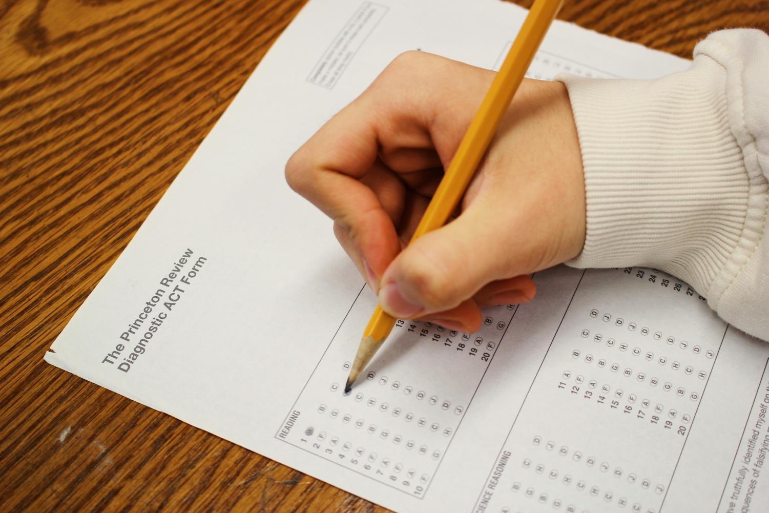 Students may not need to take the SAT or ACT to apply to college.