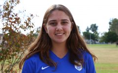 Sophomore and soccer player Ellie Khorashadi fuels up to conquer her games.