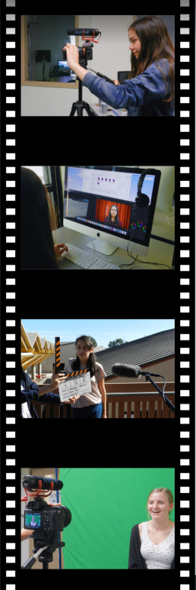 Warrior TV works hard throughout the different steps of producing an episode, from filming to editing.