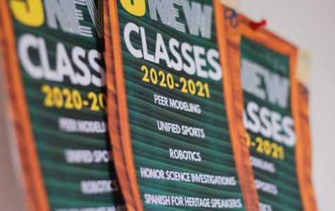 These are the new classes Woodbridge High will be offering in the coming year.