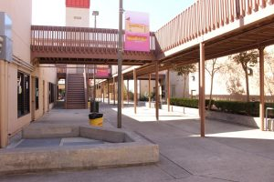 Woodbridge High's empty campus reflects the reality of the coronavirus's impact on high schools all over the country.