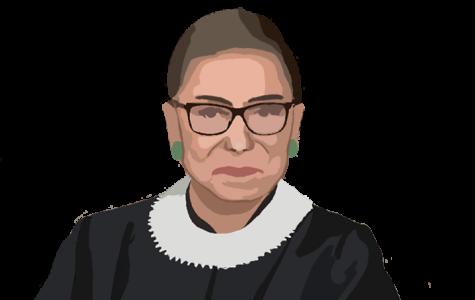 Portrait of former Supreme Court Justice Ruth Bader Ginsburg