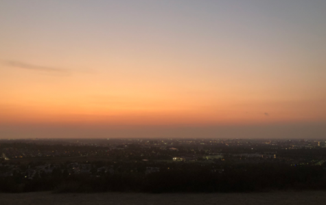 Sunset picture at Suicide Hill
