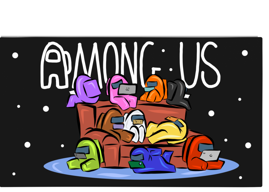 Among+Us+keeps+students+gripped+to+their+devices%2C+immersed+in+a+%22whodunit%22+style+videogame+that+takes+place+in+outer+space.