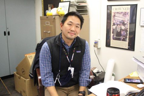 Dr. Roh poses for a picture