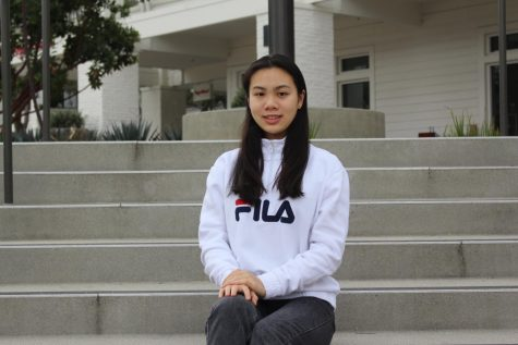 Fencing athlete Demi Lei bridges her hobbies together during quarantine.