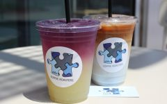 The Able Latte and the Butterfly Pea Lemonade are some of the signature drinks at Able Coffee Roasters.